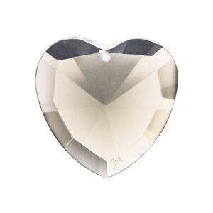 シルバーの光 エロヒム天使 No.65 ハート型クリスタル
